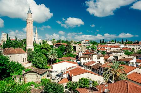 Alanya: Alanya cityscape  Turkish resort Stock Photo