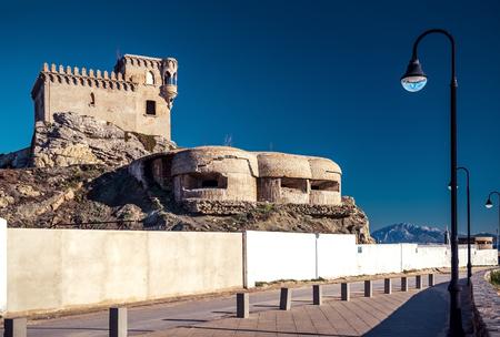 cadiz: Castillo de Santa Catalina  Tarifa, Spain