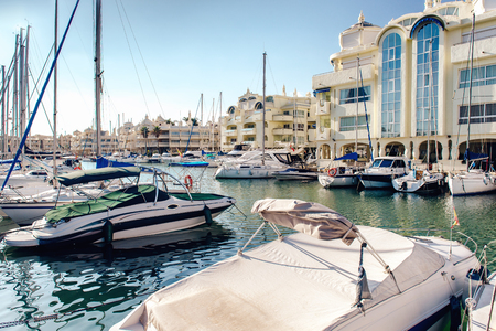 Puerto Marina  Benalmadena, Spain photo