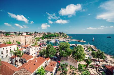 Antalya cityscape  Turkey