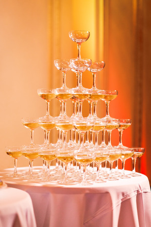 Champagne Pyramid photo