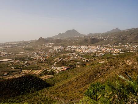 arona: Beautiful landscape of Arona in Tenerife. Canary Islands. Spain