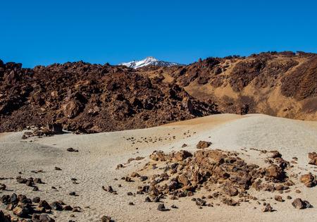 stratovolcano: Scenic view of volcano Teide, Tenerife. Canary Islands