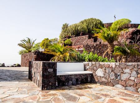 arona: Observation deck. Arona, Tenerife. Canary Islands. Spain Stock Photo