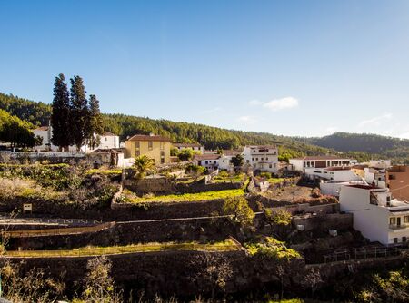 arona: Typical village in Tenerife. Canary Islands. Spain