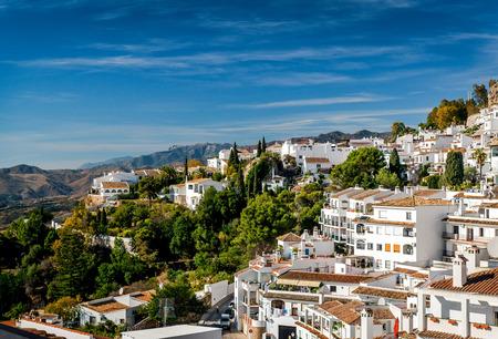 Charmante kleine witte dorp Mijas. Costa del Sol, Andalusië. Spanje
