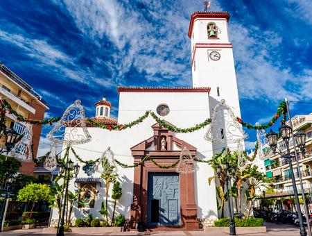 roman catholic: Catholic Church of Nuestra Senora del Rosario Our Lady of the Rosary. Fuengirola Malaga. Southern Spain