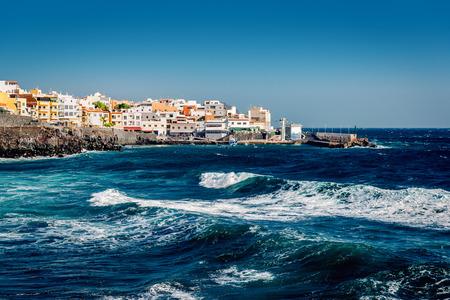 fishing village: Los Abrigos, small fishing village in Granadilla de Abona, Tenerife. Canary Islands, Spain