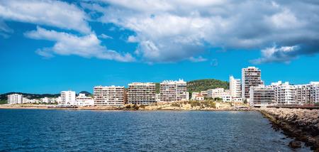 antonio: San Antonio de Portmany. San Antonio also Sant Antoni is the second largest town in Ibiza. Balearic Islands. Spain