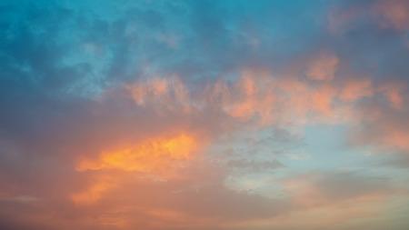 Colorful sunset. Tenerife, Canary Islands. Spain Standard-Bild