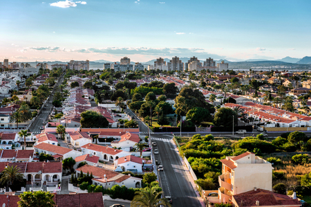 costa blanca: Cityscape of Torrevieja. Alicante province, Costa Blanca. Spain