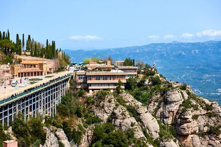 benedictine: The Benedictine abbey of Santa Maria de Montserrat, Catalonia. Spain