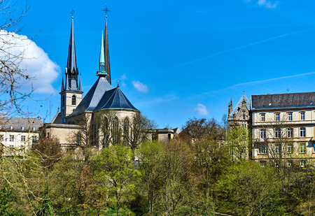 Notre Dame Cathedral (Cathedral of Our Lady) in the Luxembourg city, it is the only cathedral in Luxembourg. Western Europe