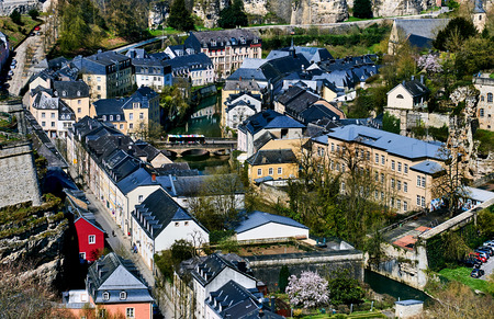 luxembourg: Luxembourg cityscape. Western Europe