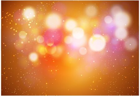 Colors Background Abstract Light Bokeh Vector Illustration Illustration