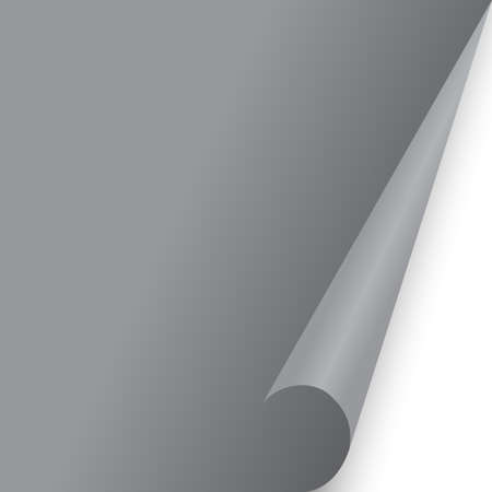 paper document page fold Gray fo background