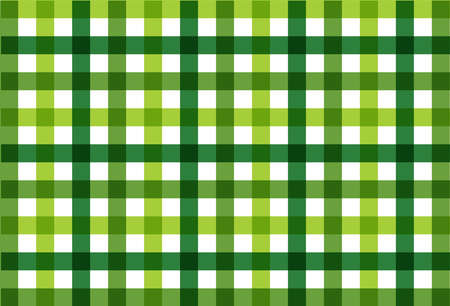 Seamless checkered vector pattern. Seamless checkered vector pattern. Coarse vintage green plaid fabric texture. Abstract geometric background. Tablecloth for picnic Texture.
