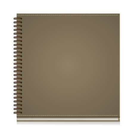 Cuaderno de papel de la portada