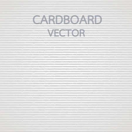 Kartonnen textuur Stock Illustratie