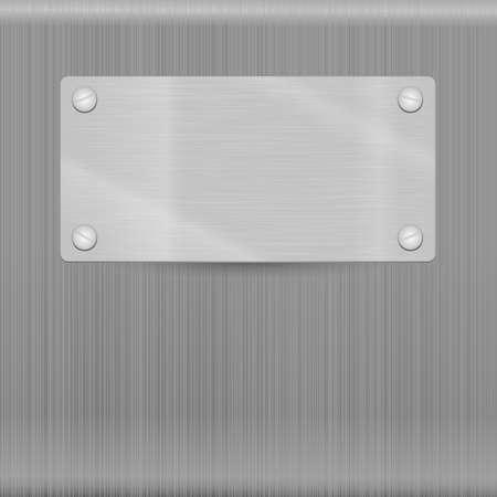 Textura del metal para el fondo, Esta ilustraci�n contiene transparencias Vectores