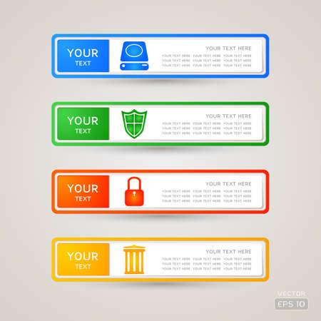 master page: Sticker Label web set