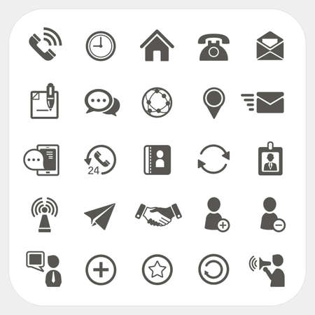 Communicatie icons set