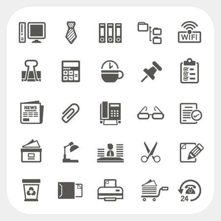 Iconos del asunto y de la oficina fijados