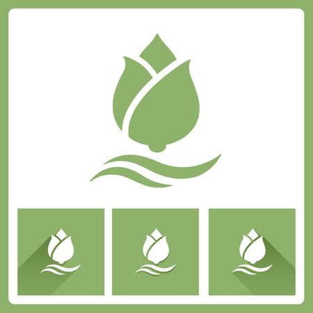Lotus icons Vector