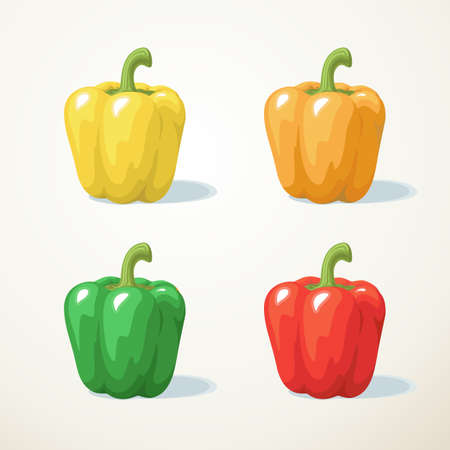 Colorful of Sweet pepper