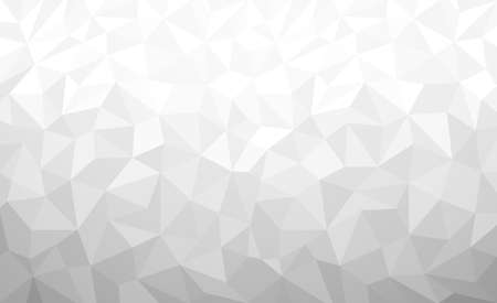 White Polygonal background, Vector illustration, Business Design Templates.