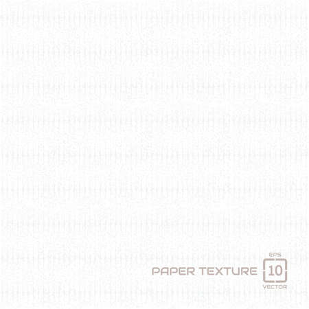 White Paper texture background, EPS10, Don't use transparency. Standard-Bild - 109407715