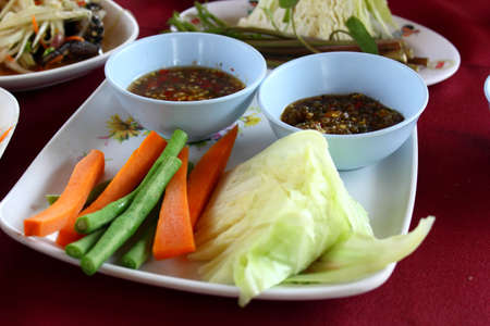Curry Vegetable Dip each dish ordered by Thailand
