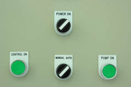 Switch panel industry Stock Photo - 16509751