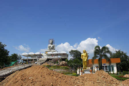 Construction and renovation of Buddhism  Stock Photo - 16543431
