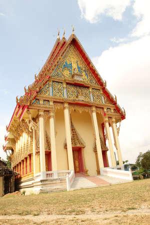 Buddhist meditation hall Stock Photo - 16646783