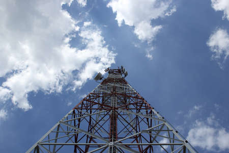 Communications antenna and sky Stock Photo - 17062284