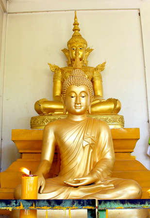 Concentration of the Lord Buddha  Stock Photo - 17090300