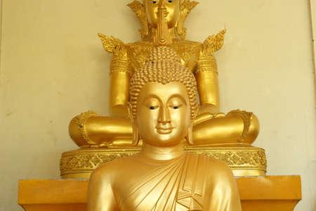 Buddha brass  Stock Photo - 17090258