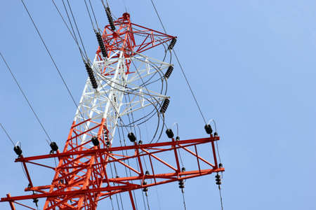 High voltage towers Stock Photo - 17090103
