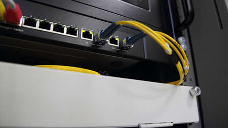 Network   Fiber Link Stock Photo - 17217296