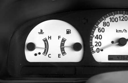 Mileage dial indicator  photo