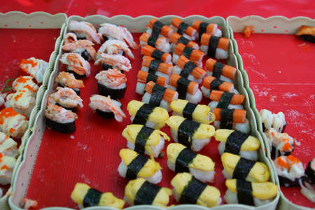 japanese sushi Stock Photo - 17309506
