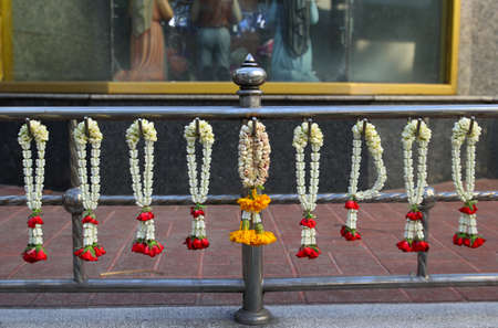 Flower garlands for the temple  Stock Photo - 17309489