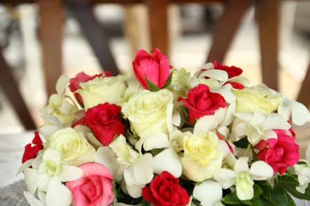 Rose flowers for Valentine s Day Stock Photo - 17504840