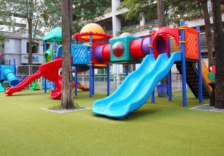 Kindergarten playground  Stock Photo