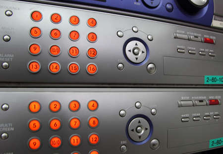 Digital video recorder Stock Photo