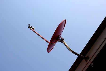 Satellite dish at noon Stock Photo - 18318993