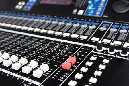 Master red volume Electronic mixer  photo