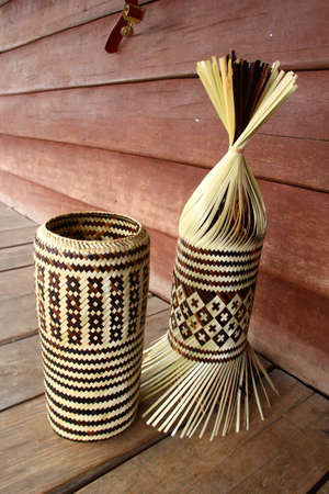 traditional Thai style basketry