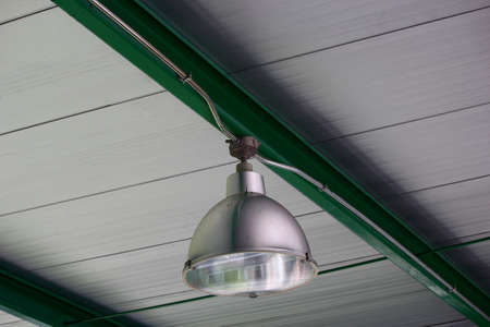 Large lantern on the roof  photo